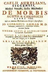 caelii aureliani